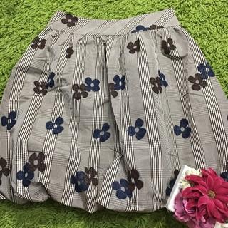 M'S GRACY - エムズグレイシー レディフラワープリント スカート