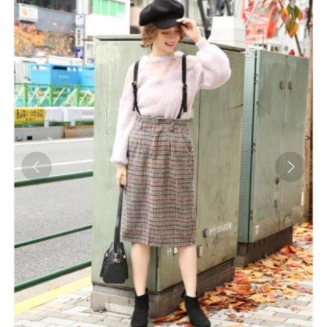 heather(ヘザー)の【新品】heather♠︎チェックスカート♠︎ レディースのスカート(ひざ丈スカート)の商品写真