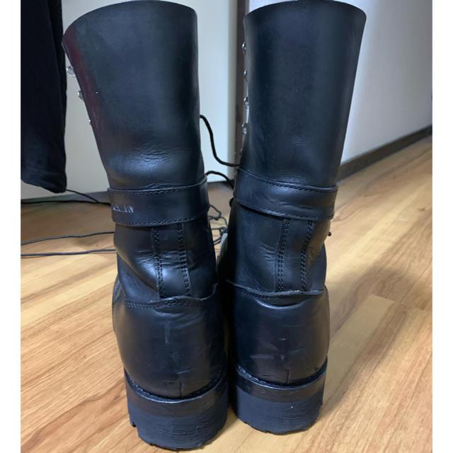 JOHN LAWRENCE SULLIVAN(ジョンローレンスサリバン)のJOHN LAWRENCE SULLIVAN コンバットブーツ メンズの靴/シューズ(ブーツ)の商品写真