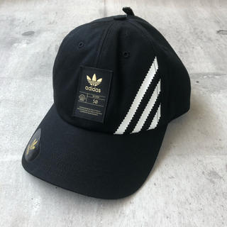 adidas - adidas スーパースターcap ブラックゴールド  海外限定