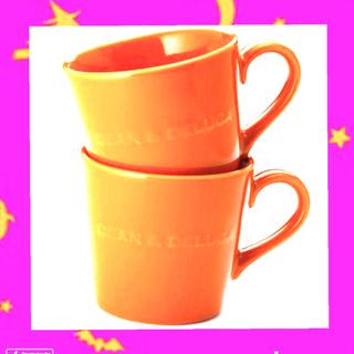 DEAN & DELUCA - 2個セット‼️DEAN & DELUCA モーニングマグ パンプキンオレンジ