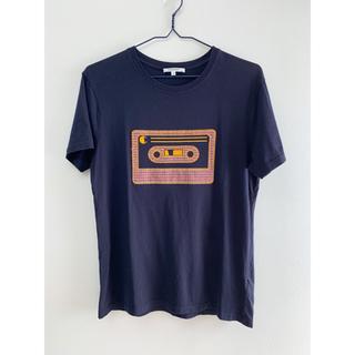 カルヴェン(CARVEN)の半袖Tシャツ carven カセットテープ刺繍 ネイビー カルヴェン S(Tシャツ/カットソー(半袖/袖なし))