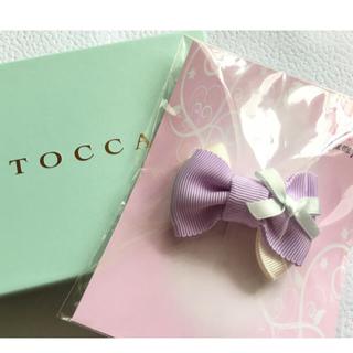 TOCCA - トッカバンビーニ オシャレ ボリューム ヘアピン トッカブルー 新品♡ 日本製