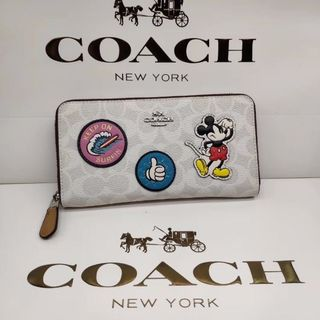 COACH - 人気 デイズニー coach 長財布