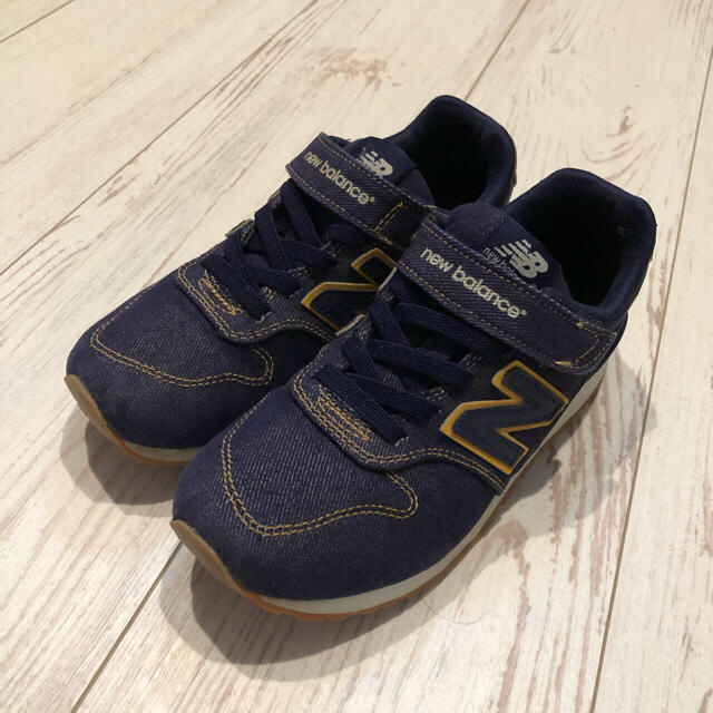 New Balance(ニューバランス)の21cm ニューバランス996 デニム調スニーカー キッズ/ベビー/マタニティのキッズ靴/シューズ(15cm~)(スニーカー)の商品写真