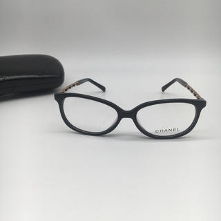 CHANEL - 箱付き 送料無料 Chanel 3221 メガネフレーム 黒
