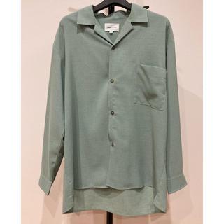 ハレ(HARE)の値下げ EMMA CLOTHES ブライトポプリンリラックスオープンカラーシャツ(シャツ)
