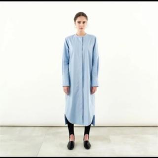 ENFOLD - yonfa コクーンシャツドレス ワンピース検索ボーダーズ  yori