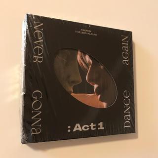 シャイニー(SHINee)のSHINee テミン  TAEMIN ACT1 CD(K-POP/アジア)