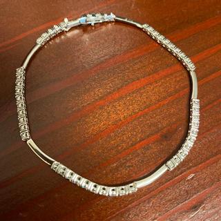 デビアス(DE BEERS)の【まちゃこ様専用】ラインブレスレット Diamond LINE ブレスレット (ブレスレット/バングル)