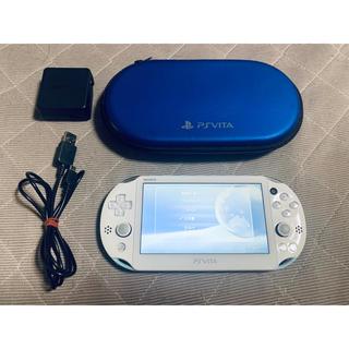 PlayStation Vita - vita ライトブルー 送料無料 1
