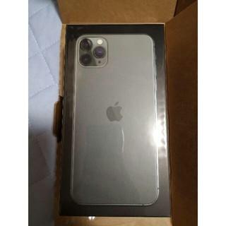 iPhone - iPhone 11 Pro Max 256GB simフリー 新品未使用 未開封