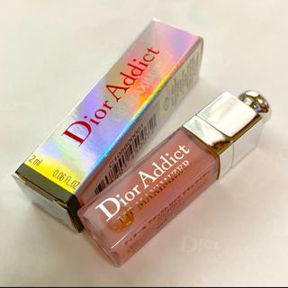 Christian Dior - ❤️ディオール アディクト ミニグロス  マキシマイザー 001 ピンク 箱付き