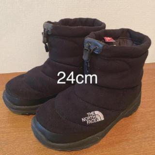 THE NORTH FACE - ノースフェイス ヌプシ ブーツ 24cm 黒