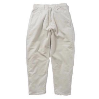 コモリ(COMOLI)のName. BIAS CORDUROY 5P TAPERED PANTS(ワークパンツ/カーゴパンツ)