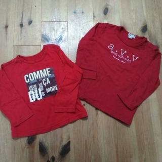 コムサイズム(COMME CA ISM)の〈90〉コムサ a.v.v 長袖 トップス(Tシャツ/カットソー)