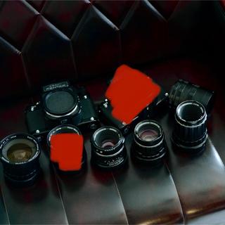 ペンタックス(PENTAX)のペンタックス67 2台 レンズ5本 接写リングセット(フィルムカメラ)