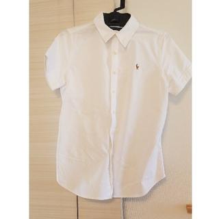 ラルフローレン(Ralph Lauren)のラルフローレン 白シャツ(シャツ/ブラウス(半袖/袖なし))