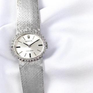 ロレックス(ROLEX)の【仕上済】ロレックス プレシジョン ラウンド ダイヤ レディース 腕時計(腕時計)