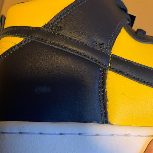 NIKE(ナイキ)の★送料込★新品未使用★ NIKE Dunk High SP  ミシガン 26cm メンズの靴/シューズ(スニーカー)の商品写真