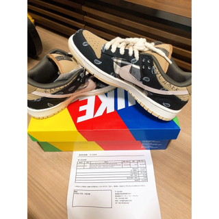 NIKE - NIKE nike sb travis scott dunk low27.0