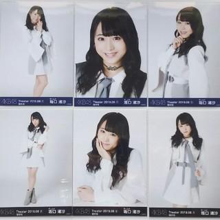 AKB48 - 014. 坂口渚沙 Theater 2019.08 生写真6種コンプ