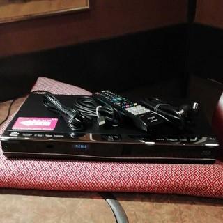 SHARP - SHARP BDーW550  2番組W録  1000GB(1TB)換装!フル装備