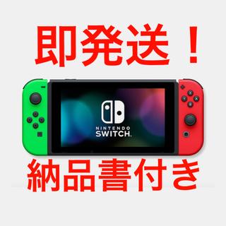 Nintendo Switch - Nintendo Switch 本体 ネオングリーン レッド 即発送