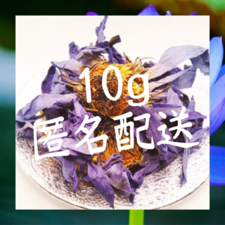 オーガニック ブルーロータス 10g 匿名配送(ドライフラワー)