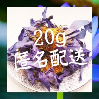 オーガニック ブルーロータス 20g 匿名配送(ドライフラワー)