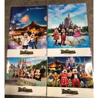 Disney - キリン×ディズニー オリジナルクリアファイル 4種