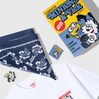 ミニオン(ミニオン)のVerdy × Minions x Vick Set Pack 白L(Tシャツ/カットソー(半袖/袖なし))