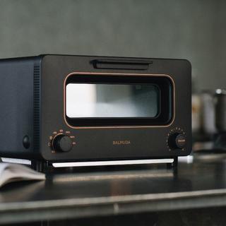 バルミューダ(BALMUDA)の新品 新モデル バルミューダ  トースター ブラック(調理道具/製菓道具)