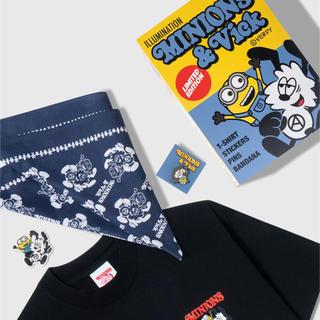 ミニオン(ミニオン)のVerdy × Minions x Vick Set Pack 黒M(Tシャツ/カットソー(半袖/袖なし))