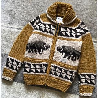 NEIGHBORHOOD - 名作 ネイバーフッド×カナタ バッファロー カウチン ニットジャケット セーター