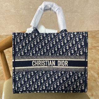 Dior - クリスチャンディオール    オブリーク ブックトートバッグ