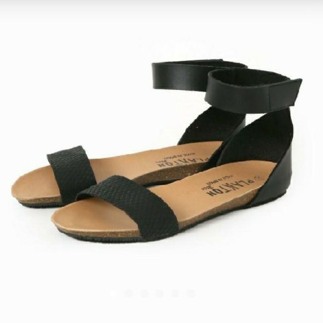 JOURNAL STANDARD(ジャーナルスタンダード)のPLAKTON プラクトン アンクルストラップサンダル レディースの靴/シューズ(サンダル)の商品写真