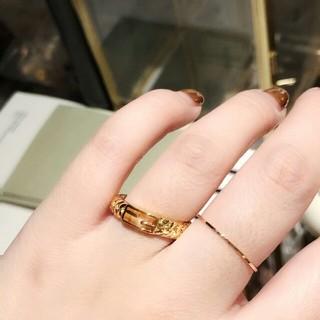 フェンディ(FENDI)の⭐お勧め⭐リング フェンディ 指輪 ロゴ(リング(指輪))