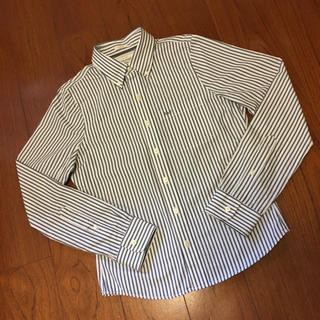 アバクロンビーアンドフィッチ(Abercrombie&Fitch)のアバクロ 新品 ストライプシャツ ボタンダウン 胸ポケットA&F刺繍(シャツ)
