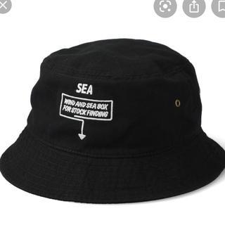 シー(SEA)のWDS ARCHIVE BOX BUCKET HAT バケットハット(ハット)