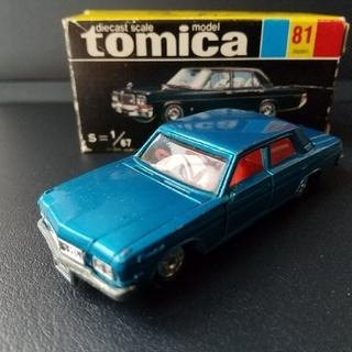 トミー(TOMMY)のトミカ 黒箱 No.81 ニッサン プレジデント(ミニカー)