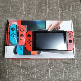 Nintendo Switch - joy-con2組! Nintendo Switch本体 旧型 中古
