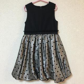 クミキョク(kumikyoku(組曲))の新品 未使用 組曲 キッズ ワンピース 120 フォーマル バルーン 入学式(ドレス/フォーマル)