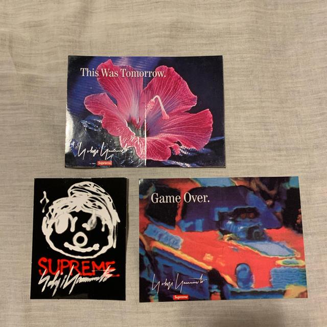 Supreme(シュプリーム)のSupreme ステッカー 3枚 yohji yamamoto メンズのファッション小物(その他)の商品写真