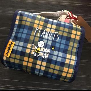 ジュエルナローズ(Jewelna Rose)の【新品】ジュエルナローズ  ピーナッツ スヌーピー ハンガー付きポーチ(旅行用品)