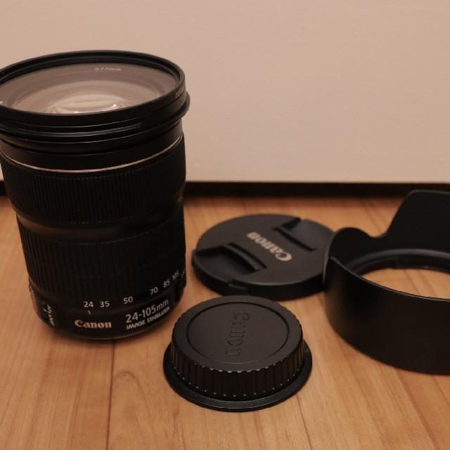 Canon(キヤノン)の美品 キヤノン EF24-105mm F3.5-5.6 is stm スマホ/家電/カメラのカメラ(レンズ(ズーム))の商品写真