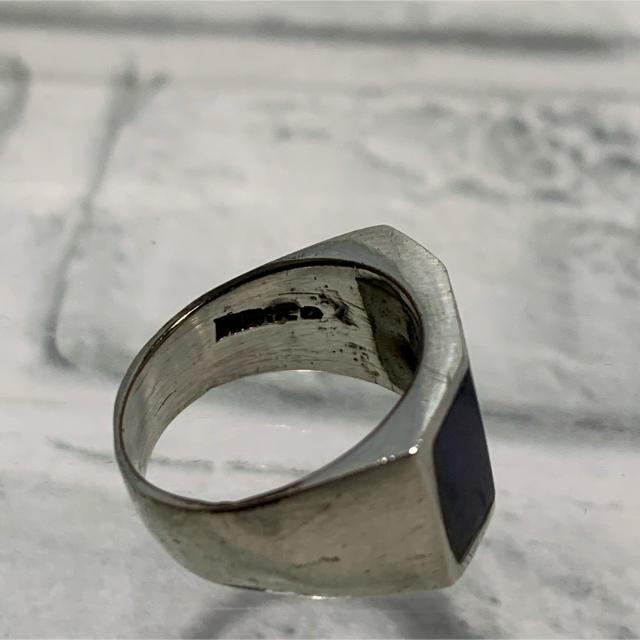 Maison Martin Margiela(マルタンマルジェラ)のヴィンテージ 50s メキシカンジュエリー  スクエア シグネットリング メンズのアクセサリー(リング(指輪))の商品写真