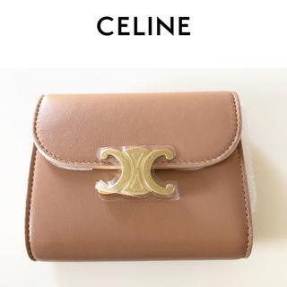 セフィーヌ(CEFINE)のceline トリオンフ ウォレット ミニ財布 デザートローズ セリーヌ(財布)