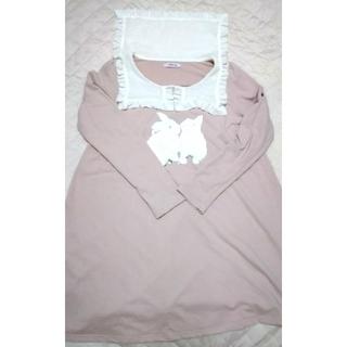 Ank Rouge - ピンク セーラー襟 ワンピース