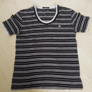 バーバリーブラックレーベル(BURBERRY BLACK LABEL)のブラックレーベル☆重ね着風☆ボーダーTシャツ(Tシャツ/カットソー(半袖/袖なし))